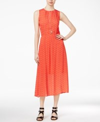 Maison Jules Printed Midi Dress Only At Macy's Top Tomato Co