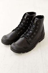 Palladium Pampa High Top Leather Boot Black