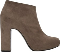 Pierre Hardy Hidden Platform Ankle Boots Nude