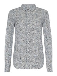 Gant Long Sleeve Button Up Preppy Shirt Grey