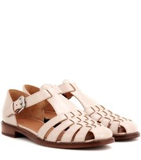 Church's Kelsey Leather Sandals Neutrals