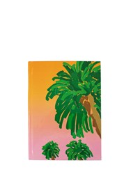 Fineandcandy Palms Pink Notebook