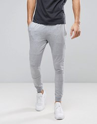 Produkt Joggers With Panel Detailing Light Grey Melange