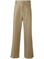 Givenchy Wide Leg Trousers Nude Neutrals