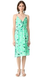 Endless Rose Aghetti Dress With Tied Ribbons Camilla Print