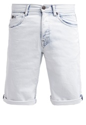 Edc By Esprit Denim Shorts Bleached Blue Light Blue