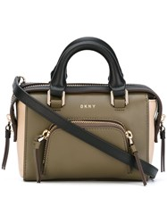 Dkny Contrast Tote Bag Green