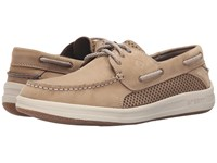 Sperry Gamefish 3 Eye Linen Men's Lace Up Casual Shoes Beige