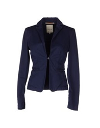 Siviglia Denim Blazers Dark Blue