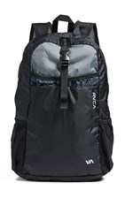 Rvca Densen Packable Backpack Black Blue