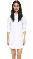 Endless Rose Shirtdress White