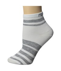 Pearl Izumi W Elite Sock Pi Core White Women's Crew Cut Socks Shoes Gray