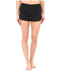 Volcom Simply Solid 3 Boardshorts Black Women's Swimwear