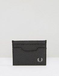 Fred Perry Scotch Grain Card Holder Black