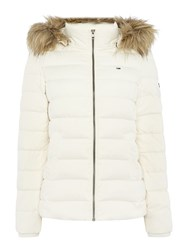 Tommy Hilfiger Thdw Basic Down Jacket Cream