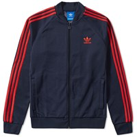 Adidas Superstar Track Top Blue