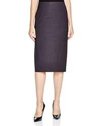 Elie Tahari Maureen Midi Pencil Skirt