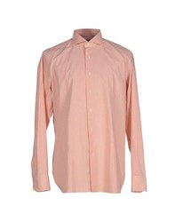 Lardini Shirts Shirts Men Orange