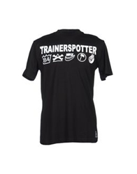 Trainerspotter Short Sleeve T Shirts Black