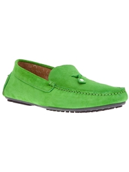 Paul And Joe Tassel Loafer Green