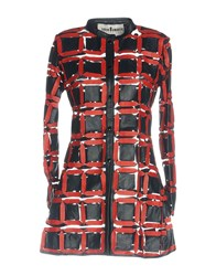 Caban Romantic Overcoats Red