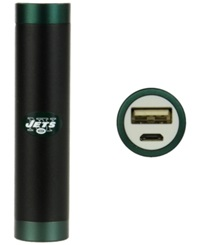 Mizco New York Jets Portable Charger Black