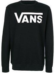 Vans Branded Sweatshirt Cotton Xl Black