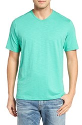 Tommy Bahama Men's Big And Tall Portside Player V Neck T Shirt Sunlight