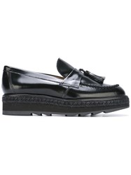 Castaner Tassel Loafers Black
