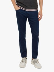 2ab4b151794c3 Ted Baker Sary Straight Fit Jeans Blue