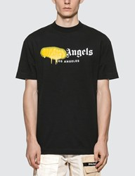 Palm Angels Los Angeles Sprayed T Shirt Black