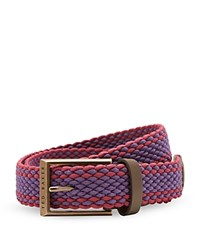 Ted Baker Two Colour Elastic Belt Deep Purple
