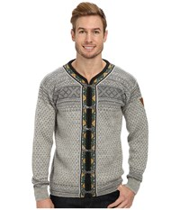 Dale Of Norway Setesdal E Smoke Light Charcoal Men's Sweater Gray