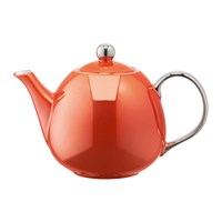 Lsa International Polka Teapot Burnt Orange