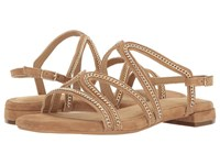 Aerosoles Downtown Light Tan Suede Women's Dress Sandals Beige