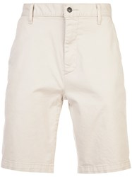 7 For All Mankind Chino Shorts Nude And Neutrals