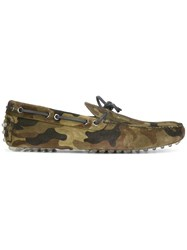 Car Shoe Camouflage Boat Shoes Green