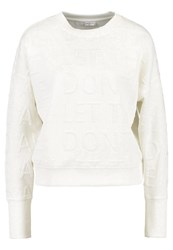Jdymaki Sweatshirt Cloud Dancer White