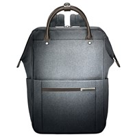 Briggs And Riley Kinzie Frame Wide Mouth Backpack Grey