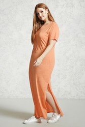 Forever 21 Plus Size Maxi T Shirt Dress