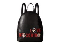 Love Moschino Charming Girls Backpack Black Backpack Bags