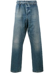 Valentino Loose Fit Jeans Blue