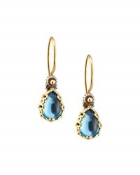 Konstantino Color Classics Blue Topaz Teardrop Earrings