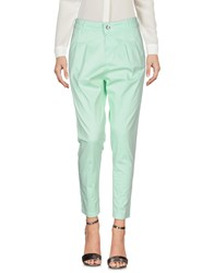Entre Amis Casual Pants Light Green