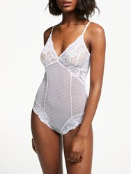 And Or Arabella Lace Body White