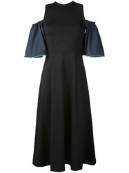 Ganni Rogers Maxi Dress Black