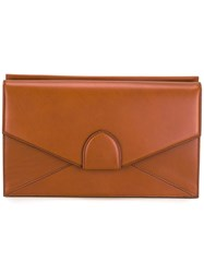 Bertoni 1949 'Dafne' Clutch Brown
