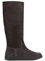 Pedro Garcia Knee High Boots Grey