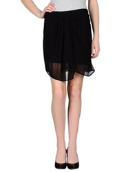 Nocollection Mini Skirts Black