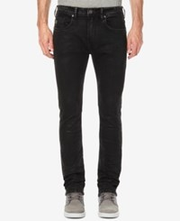 Buffalo David Bitton Men's Slim Straight Fit Stretch Jeans Viened And Costed